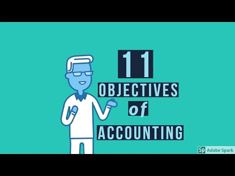11 Objectives Of Accounting
