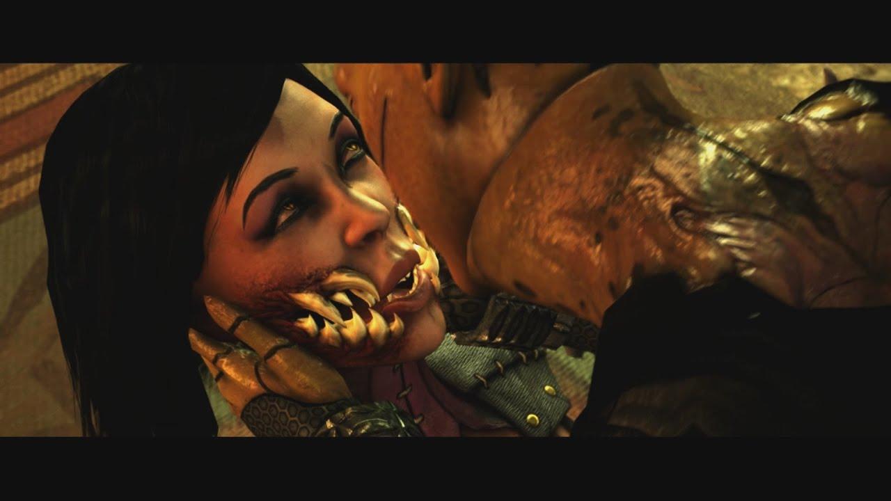Mortal Kombat X Pc Max 60Fps - Dvorah Vs Mileena Boss -9736