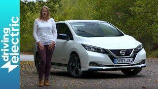 Nissan Leaf electric hatchback review - DrivingElectric