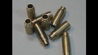 видео Бронзовые направляющие клапанов ВАЗ 2101-07 8V