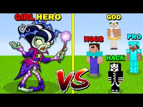 minecraft-battle:-girl-zombie-hero-vs-noob-vs-pro-vs-hacker-vs-god---funny-minecraft-trolling-battle