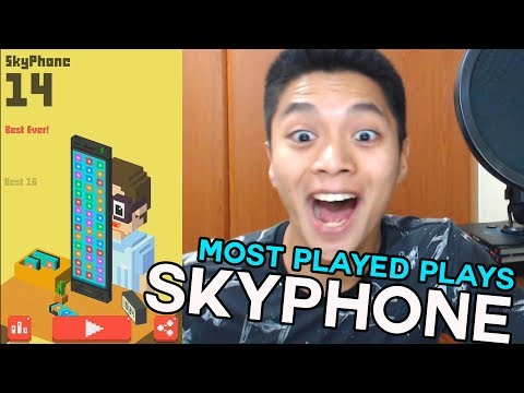 Most Played Plays SkyPhone!