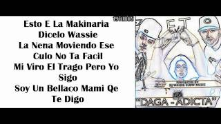 Daga Adicta - J Alvarez Ft. Lui-G Plus 21 - Letra - (Lyrics)
