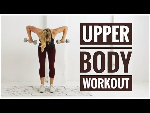 Full UPPER BODY Workout // TONING + STRENGTH