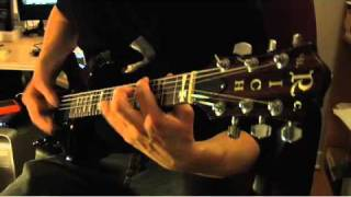 "Neuraxis - ""Asylum"" guitar demo w/ Rob Milley"