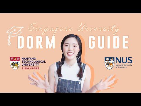 Singapore University Hall Guide!   NTU & NUS