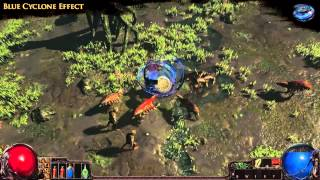 Path of Exile - Blue Cyclone Effect