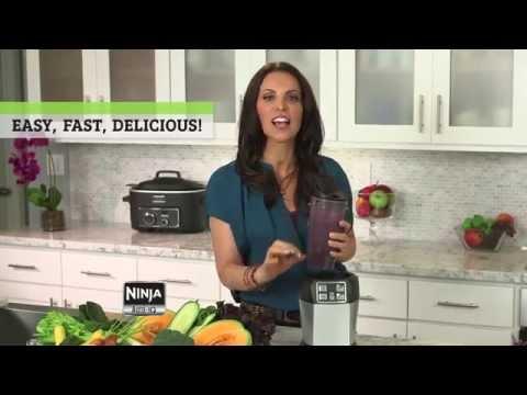Rachel Beller - Fiberized  Start Up Super Juice Recipe using Nutri Ninja® with Auto-iQ™