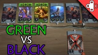 GREEN vs BLACK - New Artifact Gameplay from Gamestar