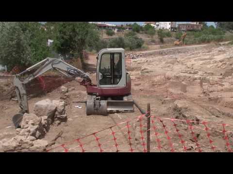 Ρεπορτάζ του zougla.gr στο νέο νοσοκομείο Χαλκίδας και στις ανασκαφές