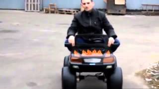 Детский Электромобиль Джип 4x4 M 1713: 12V, 2 места, 4 мотора -  raspashonka.com.ua