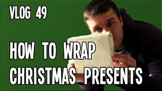 How to Wrap Christmas Presents | VLOG Week 49
