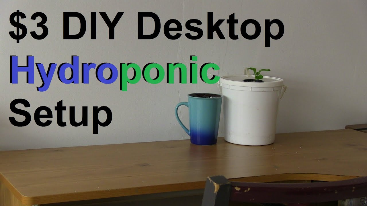 Homemade Hydroponic Systems Plans Ftempo