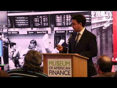 Business Author Speaking Event at The Museum of American Finance
