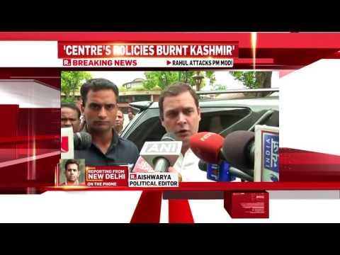 Rahul Gandhi and Farooq Abdullah on Kashmir   Republic TV