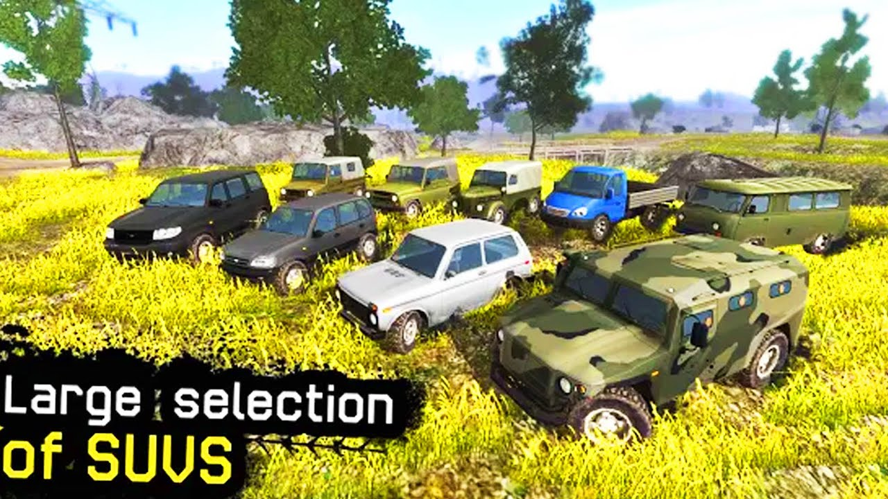 4x4 off road game for android - 4x4 Russian SUVs Off-Road New World