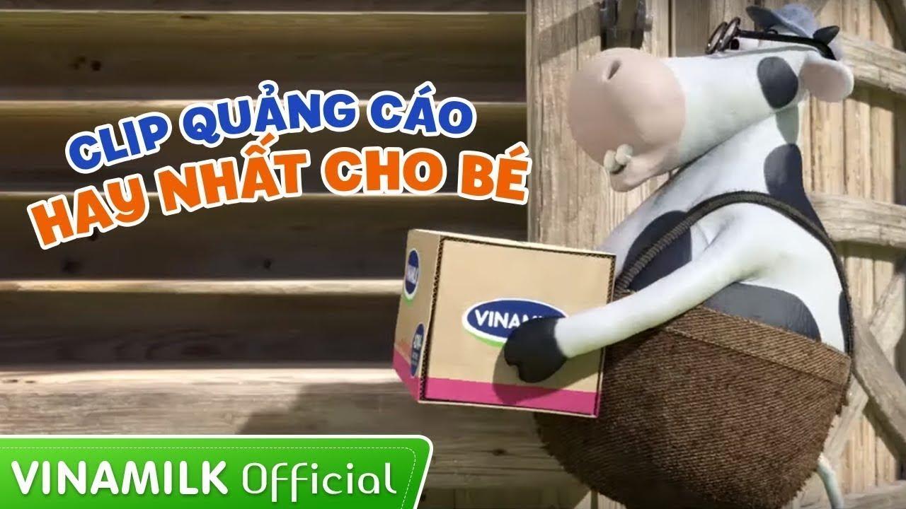 Quảng cáo Vinamilk – Tổng hợp quảng cáo hài hước vui nhộn cho bé ăn ngon