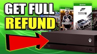 How to REQUEST A FULL REFUND ON XBOX ONE GAMES (Best Method)