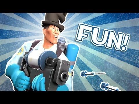 TF2: Playing Medic is Fun!