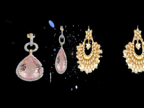 Gold Earrings Collection Diamond Earring Design Earring Designs clip3