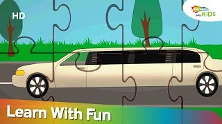 Car & Street Vehİcle Jigsaw Puzzles | Puzzles for Kids | Shemaroo Kids Tamil