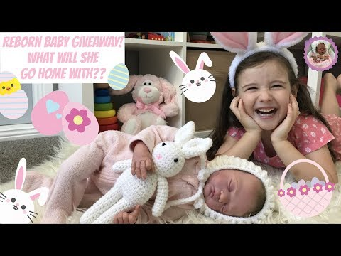 REBORN BABY EASTER GIVEAWAY! What will she go home with??