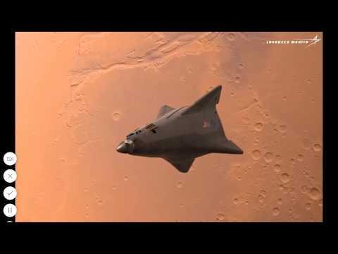 Lockheed Martin Mars Lander Ship Concept