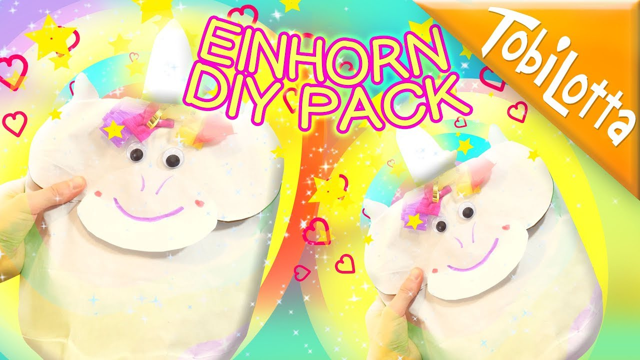 diy unicorn geschenk einhorn diy einhorn basteln unicorn basteln unicornliebe 123 youtube. Black Bedroom Furniture Sets. Home Design Ideas