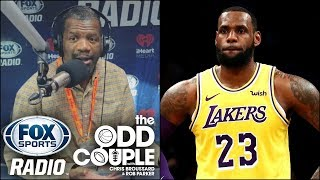 NBA - Rob Parker thinks Lakers Signing LeBron James Was a Mistake