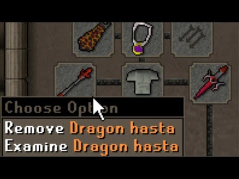Pking with a useless weapon