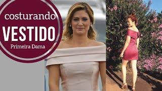 Costurei meu Vestido inspiração Primeira Dama com Alana Santos Blogger
