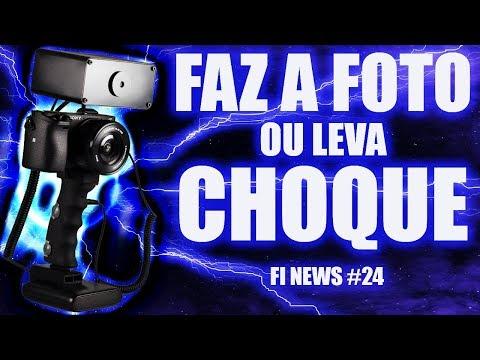 FI NEWS #24: Faz a foto ou leva Choque ⚡