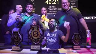 Red Poker Tour - Ibrahim Nasief campeón