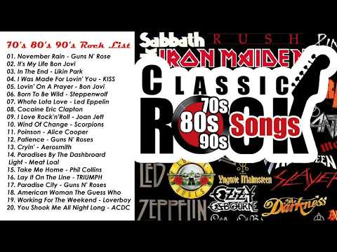 Greatest Classic Rock Songs - Best Of Classic Rock Playlist