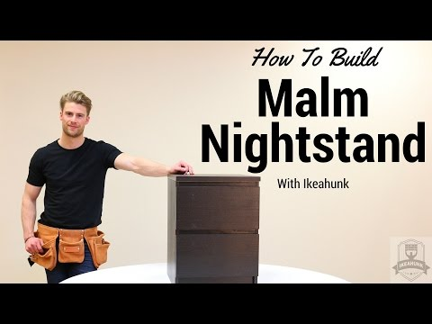 How to Assemble IKEA Malm Nightstand