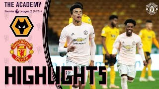 U23 Highlights | Wolves 2-1 Manchester United | The Academy
