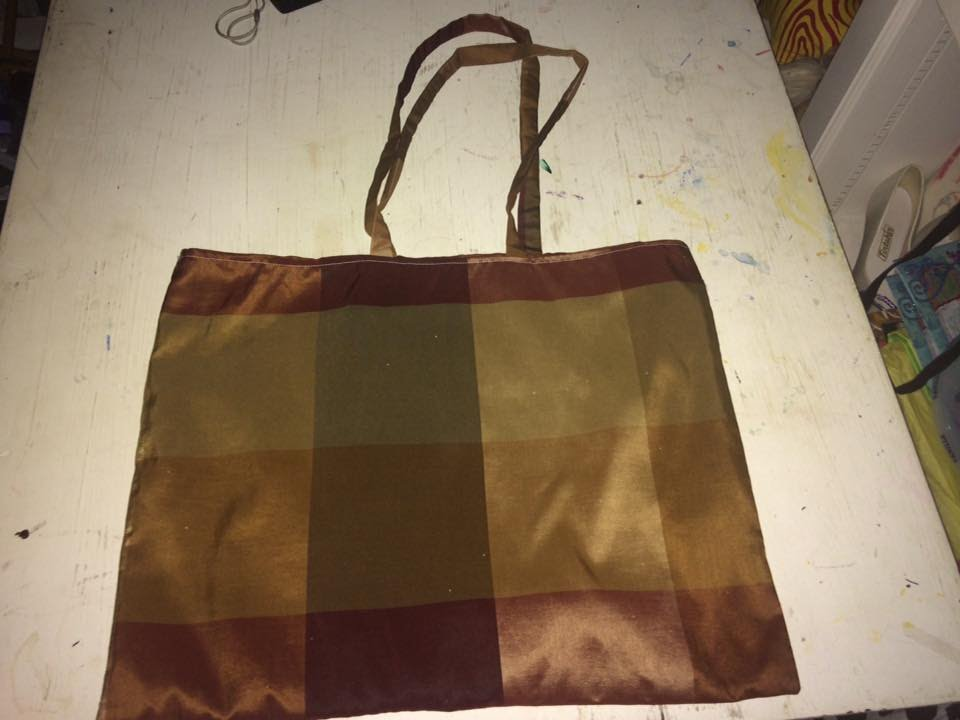 Creating A Tote Bag From Throw Pillow Covers
