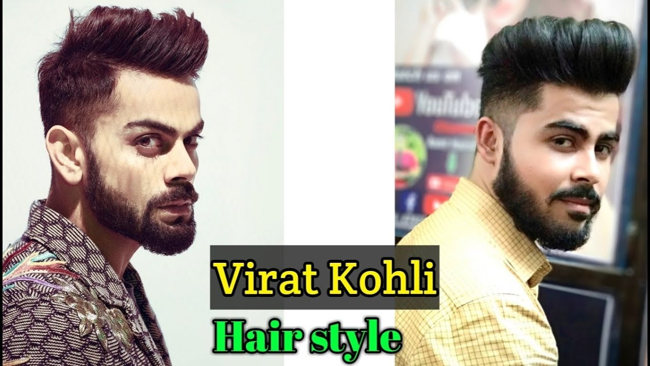 Virat Kohli Hairstyle Inspired Haircut 2018 Indian Mens