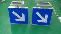 solar powered exit sign
