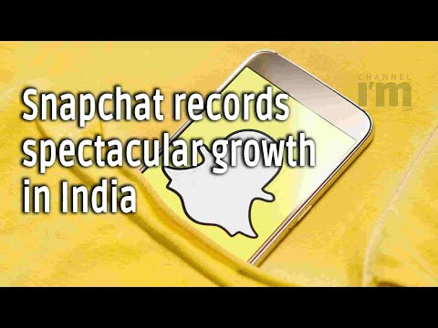 Snapchat's daily active Indian users grew 100% YoY