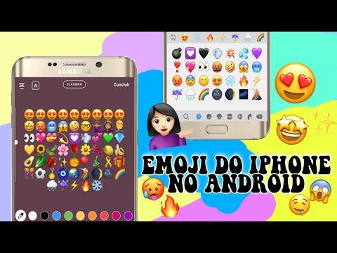 COMO TER EMOJI DO IPHONE NO ANDROID (método 2019)🥰✨