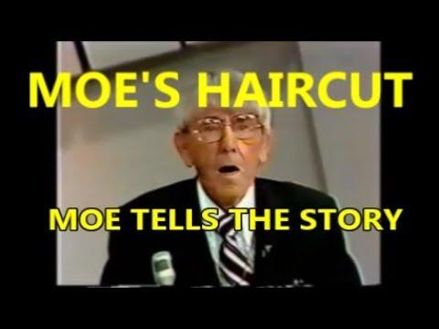 The Story Behind Moe Howard's Haircut