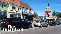 Hour-long queues as McDonald's reopens drive-through restaurants