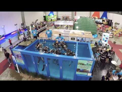 Video feito para a NAUI, durante a Adventure Fair Brasil. São Paulo/SP