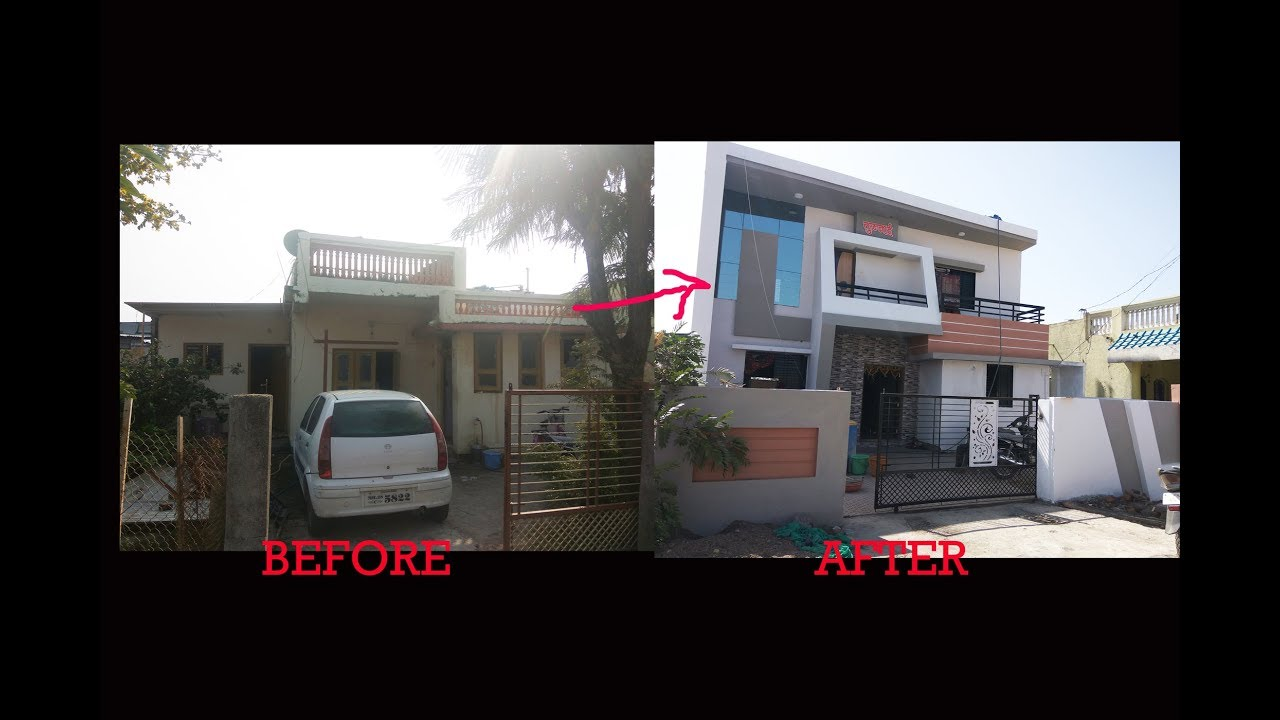amazing old house renovations before and after - YouTube