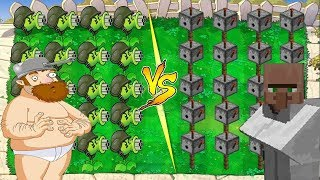 Plants vs Zombies PvZ vs Plants vs Zombies Minecraft PvZ