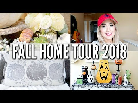 🎃 MY GRAND FALL HOME TOUR 2018 | DIY | DECORATE WITH ME FOR FALL | Love Meg