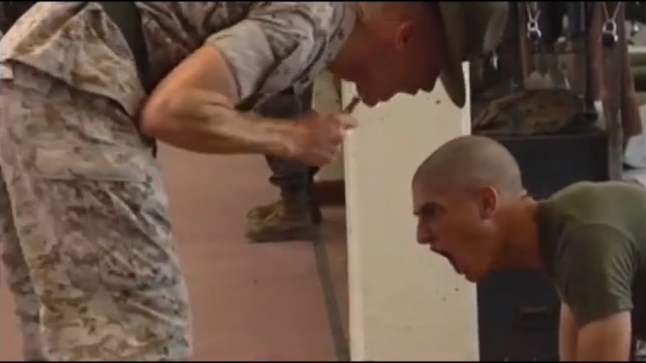 making marines a drill instructor story part 1 youtube