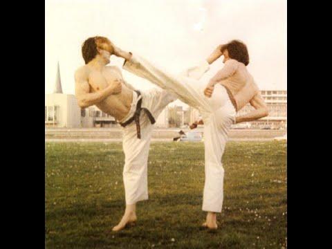 KENSHIKAN Karate training and examination by Sensei Walter Toch 1987