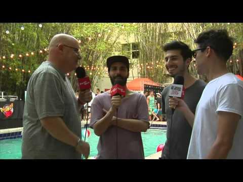 Cash Cash Interview - Power96 | Miami Music Week 2016